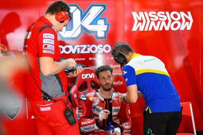 Ducati Belum Perpanjang Kontrak Dovizioso, Pernat: Masalahnya Murni karena Uang