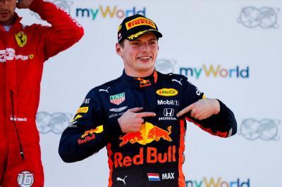 Verstappen Bicara soal Persaingan di F1 2020
