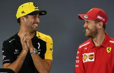 Ricciardo Akui Sempat Dikontak Ferrari Sebelum Gabung McLaren