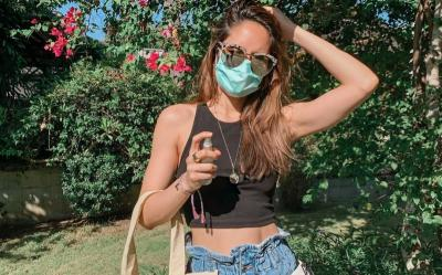 Bersiap New Normal, Intip 4 Artis Cantik Sulap Masker Jadi Keren
