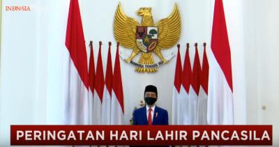 Presiden Jokowi: Nilai Pancasila Harus Mewujud dalam Keputusan Pemerintah