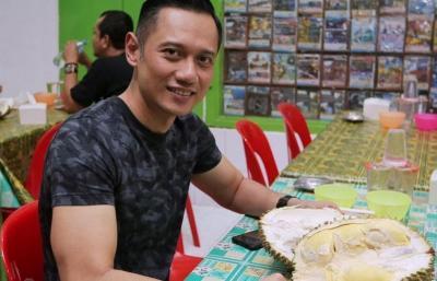 Kangen Traveling, Agus Harimurti Yudhoyono Ngebet Makan Durian
