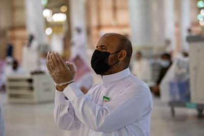 Ekspresi Para Jamaah Usai Masjid Nabawi Dibuka