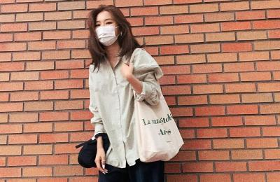 5 Inspirasi Padu Padan Busana dengan Masker ala Artis Korea