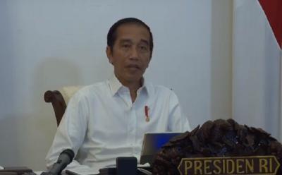 Presiden Jokowi: Pertumbuhan Ekonomi Jangan Sampai Minus