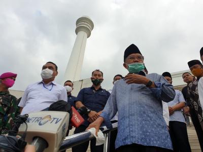 Jika PSBB Jakarta Berakhir, JK Minta Masjid Gelar Sholat Berjamaah