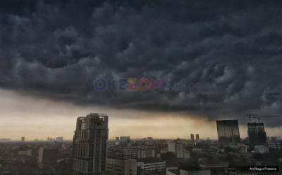 Wilayah Jakarta Diprakirakan Bakal Diguyur Hujan pada Siang Hari