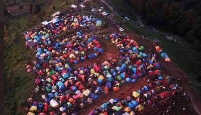Cek Fakta, Viral Bukit Alas Bandawasa Bogor Wisatawan saat Pandemi Corona