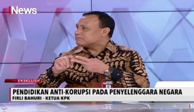 Ketua KPK: Korupsi Muncul karena Adanya Kekuasaan & Kesempatan