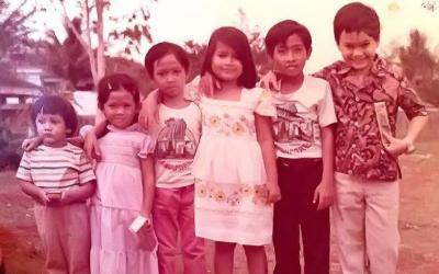 Lucunya Masa Kecil Para Cucu Soekarno Senang Main Bareng di Rumah Fatmawati
