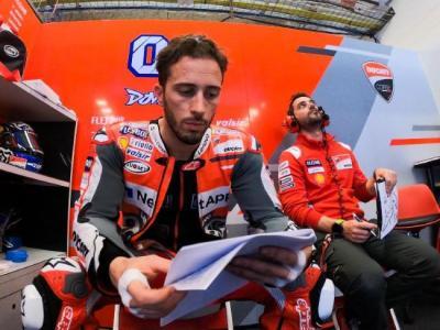 Kepala Kru Ungkap Perasaan Dovizioso di Ducati saat Ini