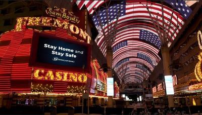 Casino Las Vegas Dibuka Kembali, Banyak Pengunjung Langgar Protokol Kesehatan