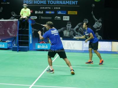 Sengit, Rehan Lisa Tundukkan Ghifari Angelica di Home Tournament