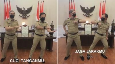 Viral Wali Kota Bogor 'Goyang AKB', Cara Seru Edukasi Cegah Covid-19
