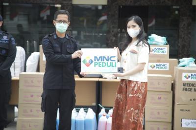 MNC Peduli Salurkan Bantuan Alat Kesehatan kepada Rumah Sakit Bhayangkara Brimob