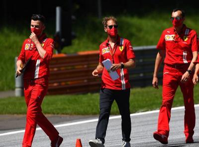 Binotto Jelaskan Alasan Ferrari Tidak Tawari Vettel Kontrak Baru