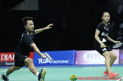 Akbar Winny Tantang Praveen Melati di Final Home Tournament