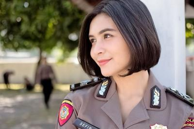 Deretan Polisi Cantik Saingan Briptu Eka