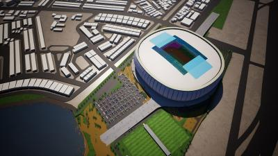 Pembangunan Stadion Jakarta International Stadium Sudah Capai 23,6%