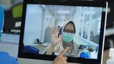 Cegah Paparan Covid-19 Antartenaga Medis, RS Terapkan Tatap Muka Virtual