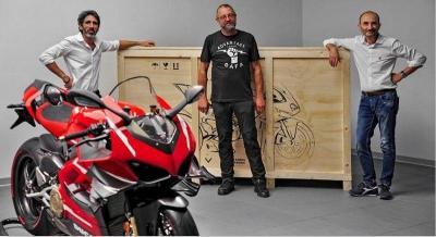 Beli Ducati Superleggera, Bisa Jajal Motor Andrea Dovisiozo