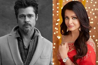 Ketika Brad Pitt Terpanah Pesona Aishwarya Rai