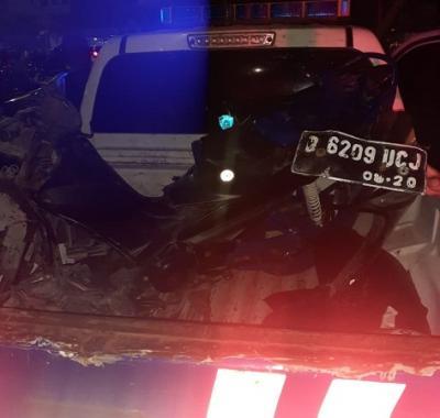 Kecelakaan Tunggal di Klender, Pemotor Tewas di Tempat