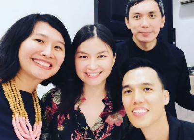 Amelia Hapsari Juri Oscar Pertama dari Indonesia, Intip 4 Potret Manis Mama Muda Ini