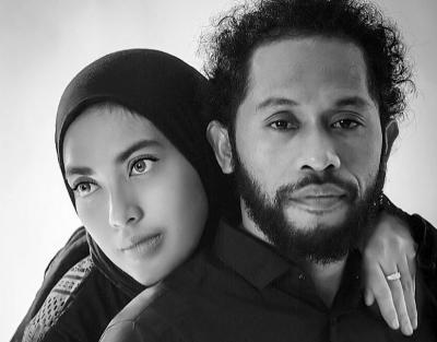 """Imam """"Gimbal"""" Bersuara Merdu Menikah, Intip Sosok Istrinya yang Salihah"""