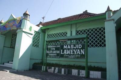 Melihat Sejarah Masjid Laweyan yang Dahulunya Bangunan Pura