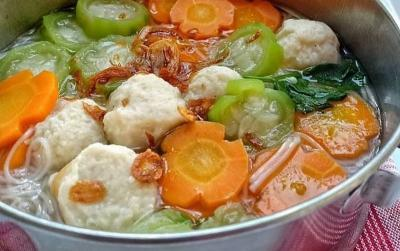 Resep MPASI Bayi agar Lahap Makan, Sop Bakso Oyong
