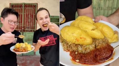 Viral YouTuber Makan Nasi Goreng Durian dengan Sambal Belacan, Rasanya Mengejutkan!
