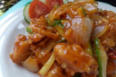 Resep Masakan Chicken Pok-Pok Saus Pedas Manis, Gurih-Gurih Nyos