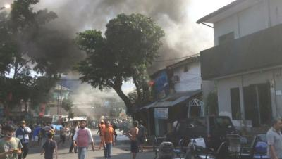 Rumah Warga di Manggarai Terbakar, 7 Mobil Pemadam Dikerahkan