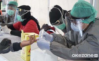 Lacak Pegawai Kantor, Rapid Test Massal Covid-19 Digelar di Sarinah