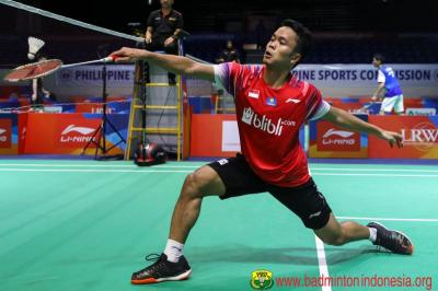 Hasil Undian Grup Tunggal Putra PBSI Home Tournament