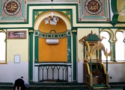 Uniknya Masjid Al Osmani Medan, Berwarna Kuning Penuh Nilai Sejarah