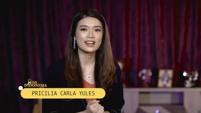 Miss Indonesia 2020 Carla Yules Berbagi Trik Jawab Pertanyaan Spontan Anti Grogi