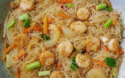 Resep Masakan Tumis Sohun Udang, Penolong Perut saat Lapar Berat