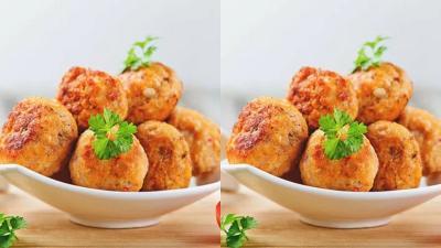 Resep Bakso Goreng Ayam Pedas, Dicocol Saus Pedas Bikin Ketagihan!