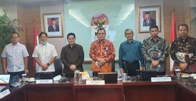 Erick Thohir Ternyata ke KPK Minta Pendampingan Kawal Dana Pemulihan Ekonomi Rp149 Triliun