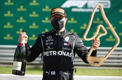 Menangi F1 GP Austria 2020 Buat Bottas Makin Pede Dapat Kontrak Baru dari Mercedes