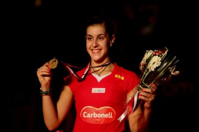 Apresiasi Petugas Medis di Spanyol, Carolina Marin Persembahkan Seluruh Medalinya