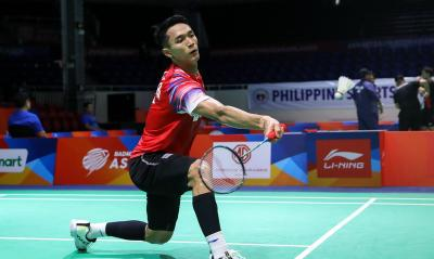 Jonatan Kantongi Kemenangan Perdana di PBSI Home Tournament
