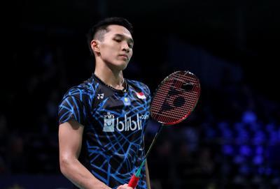 Tumbangkan Yonathan Ramlie, Jonatan ke Perempatfinal Home Tournament