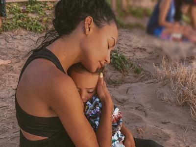 Potret Kenangan Aktris Naya Rivera Bersama sang Putra Sebelum Hilang di Danau