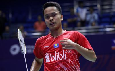 Hasil Undian Perempatfinal PBSI Home Tournament Sektor Tunggal Putra