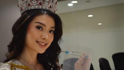 Miss Indonesia 2020 Carla Yules Ambil Sisi Positif Pandemi Covid-19