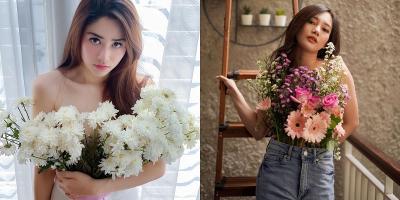 Heboh Tantangan  FlowerWear Ubah Bucket Bunga Jadi Baju, Keren Banget!