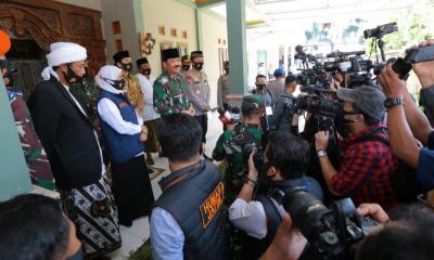 Panglima TNI dan Kapolri Pimpin Rapat Penanganan Covid-19
